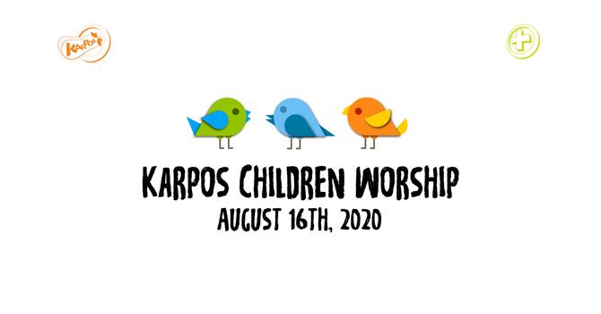 200816 Elementary Sunday Worship