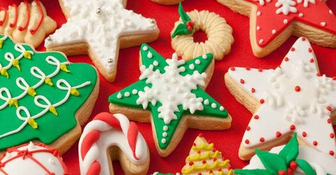 Christmas baking trays available image