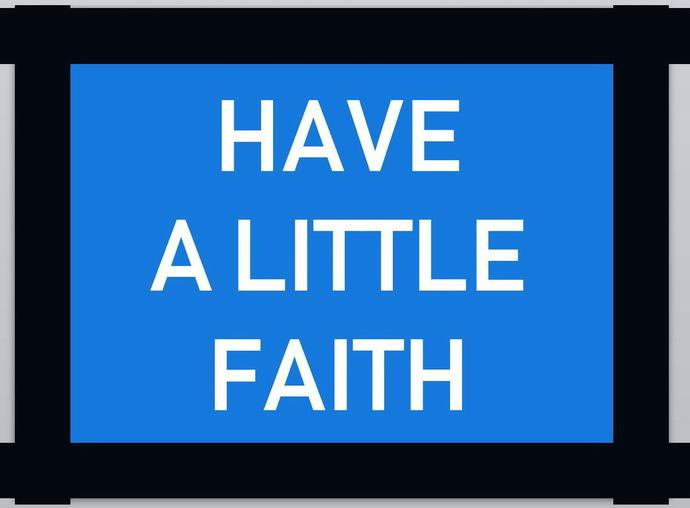 Have A Little Faith | JEOPARDY WITH JESUS | Comox