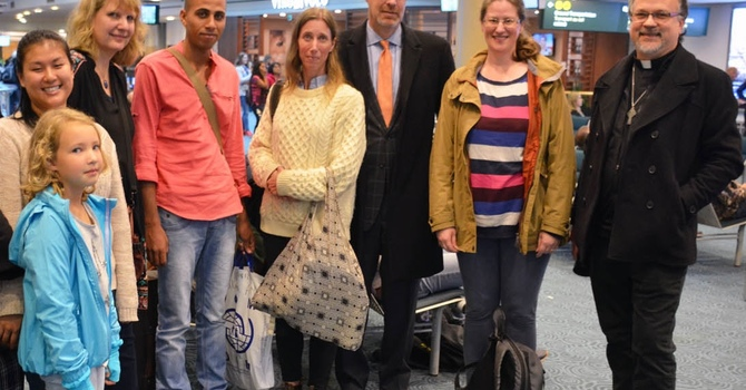 First Syrian Refugee Has Arrived! image