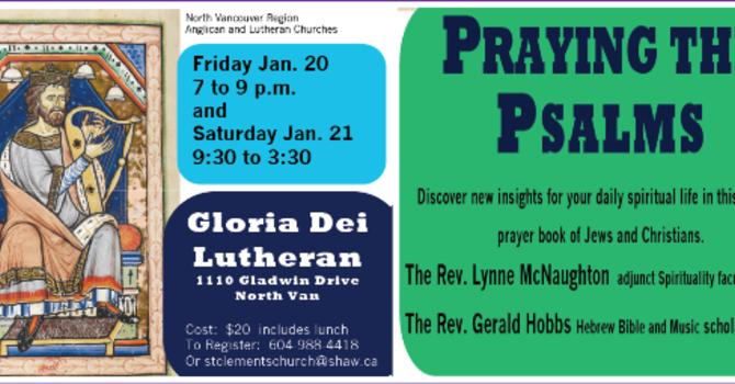 Praying the Psalms image