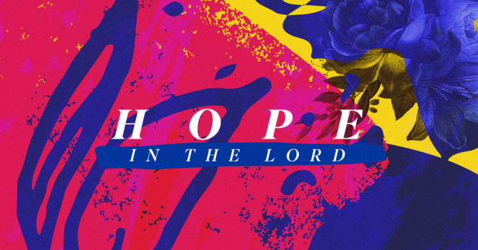 Hope In The Midst of Hopelessness