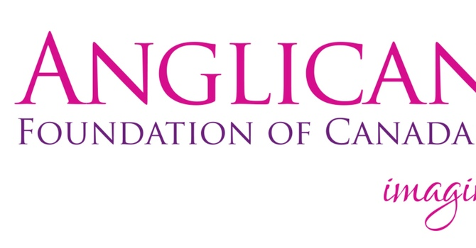 Thank you!  The Anglican Foundation of Canada