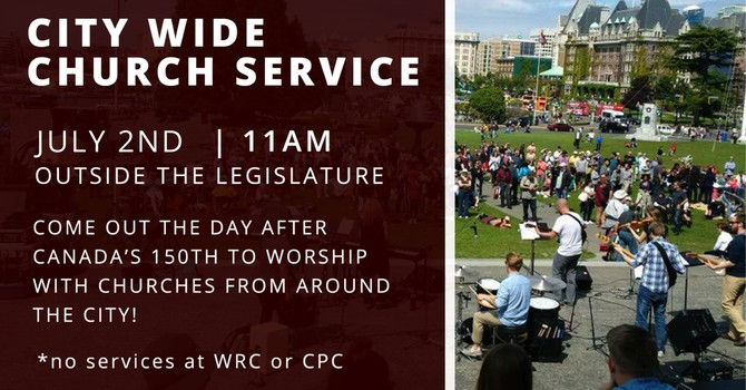 No services at WRC/CPC! Join us for worship at the Legislature | 11am image