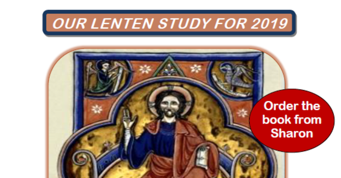 Lenten Study: A Lion, a Man, an Ox and an Eagle