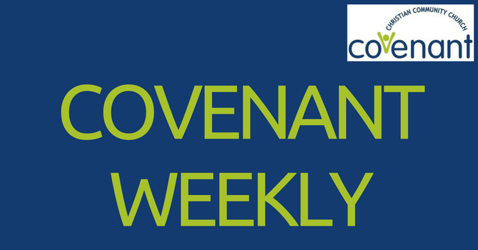 Covenant Weekly - October 10, 2017 image