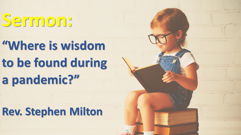Where is Wisdom to be Found During a Pandemic?