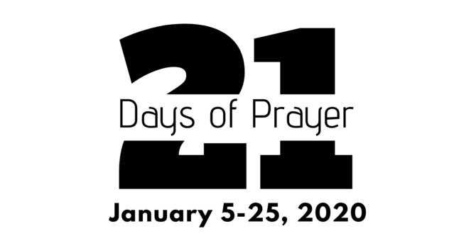 21 Days of Prayer image