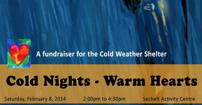 Cold Nights - Warm Hearts Cold Weather Shelter Fundraiser in Sechelt image