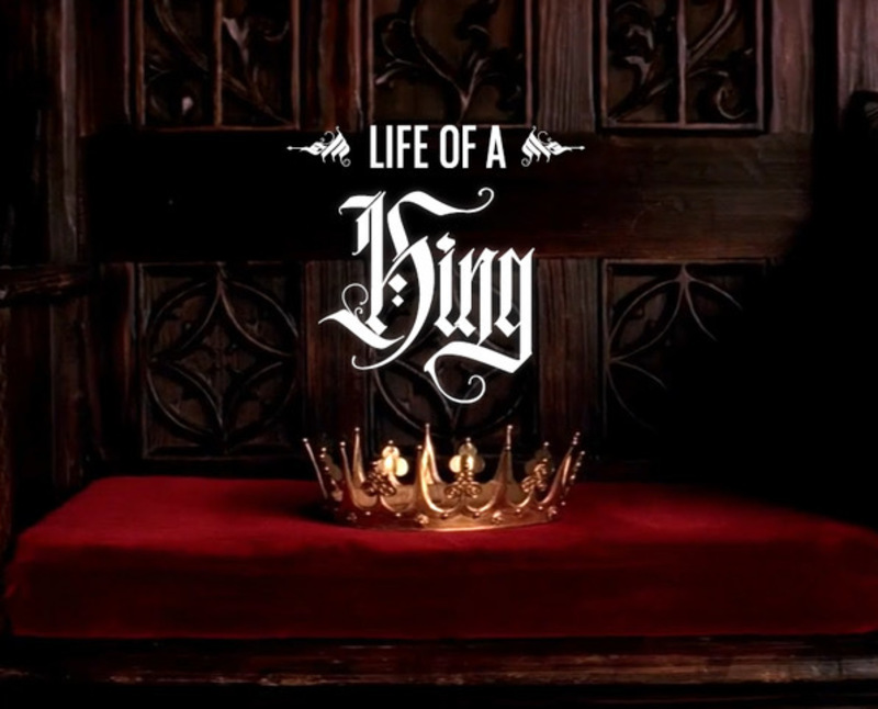 King as Worship Leader