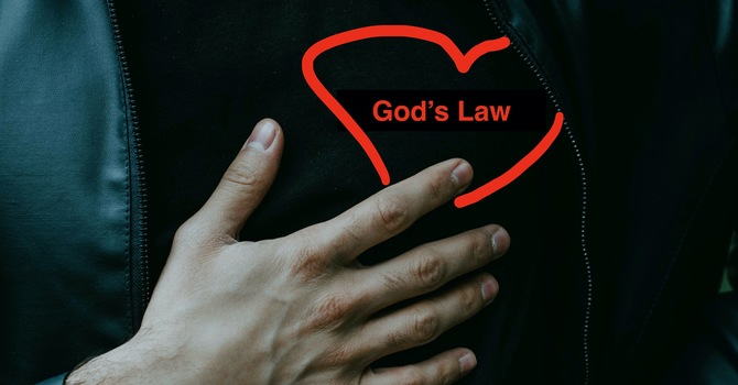 Everything changes when God's law is in our hearts!