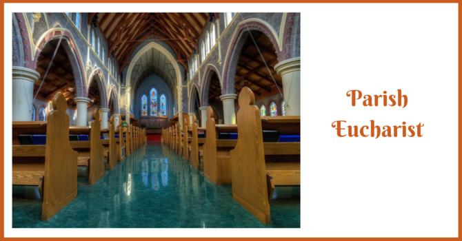 Parish Eucharist - The Reign of Christ & Stewardship Sunday image