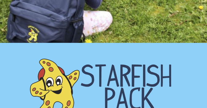 Starfish Packs - Bethel Kids Giving Project image
