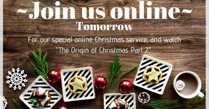 Online Sunday Service 12-23-18  image