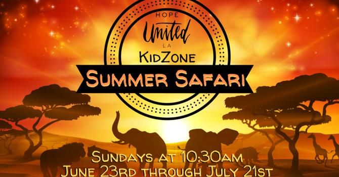 KidZone: Summer Safari image