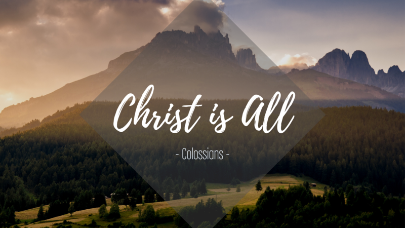 Colossians 3:12-17 - Jesus: On With The New