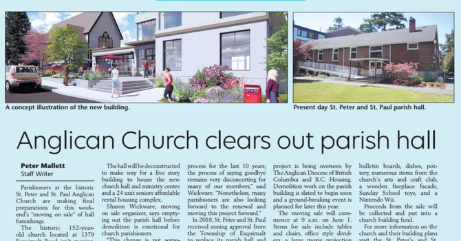 News about our Parish in The Lookout! image