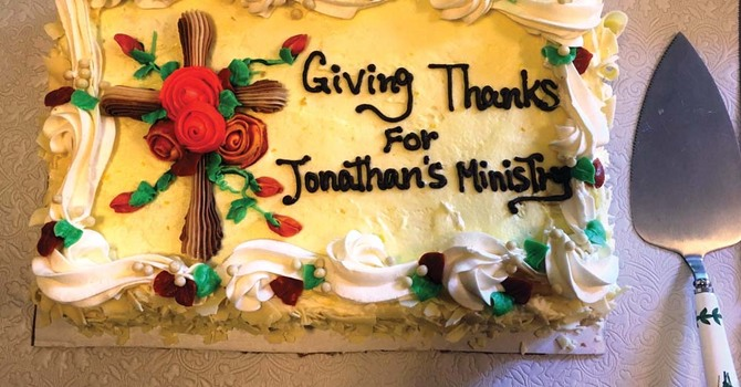 Giving Thanks for Jonathan's Ministry