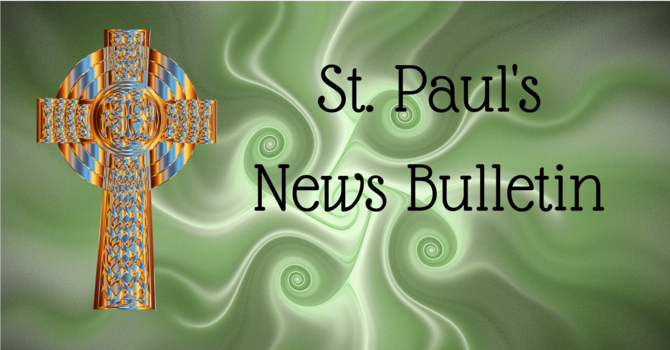 St. Paul's March 17 News Bulletin image
