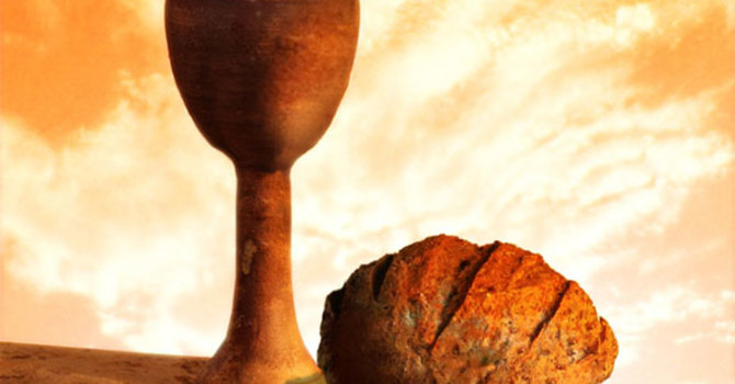 """The Advent of God's Presence: Holy Communion"""