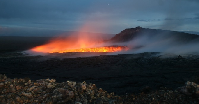 Does Hawaii's Volcanic Eruption Signal the Apocolypse? image