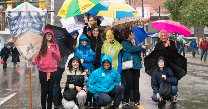 Diocese of New Westminster Participation in the Walk for Reconciliation image
