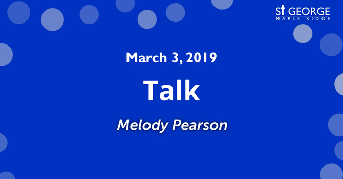 St.George Maple Ridge Talk - March 3, 2019 image