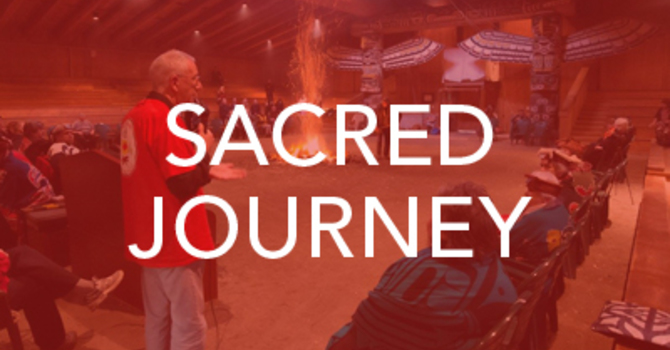 Bishop Logan leads by example on a Sacred Journey image