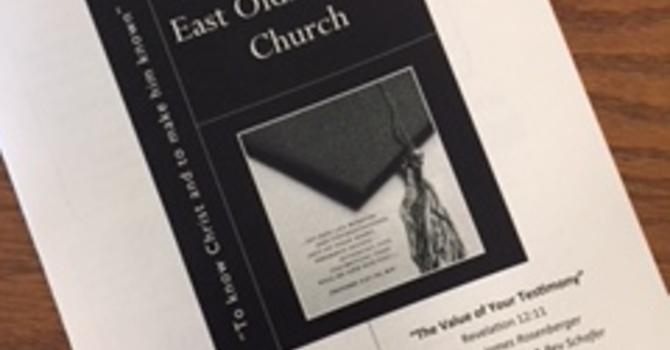 June 10, 2018 Church Bulletin image