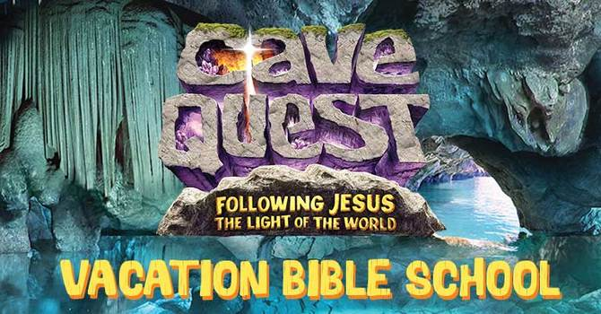 Cave Quest VBS - Coming this August image