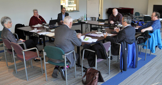 Provincial House of Bishops Meet at 1410 Nanton Avenue