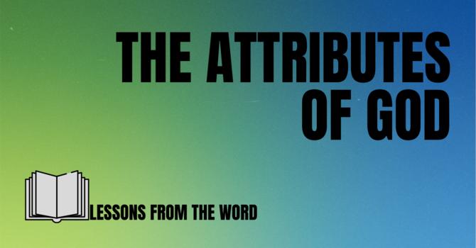 The Omnipresence of God