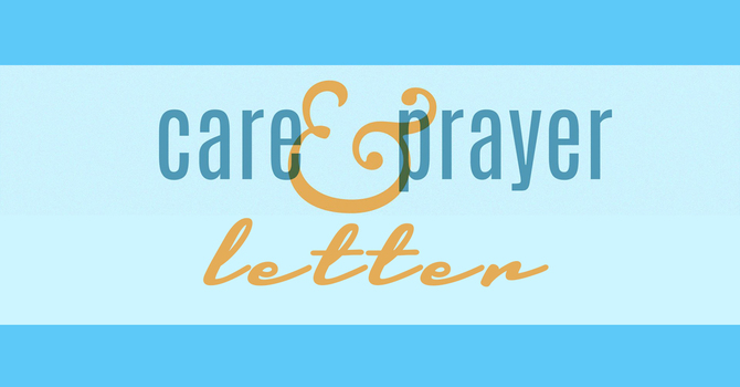 Care and Prayer Letter image
