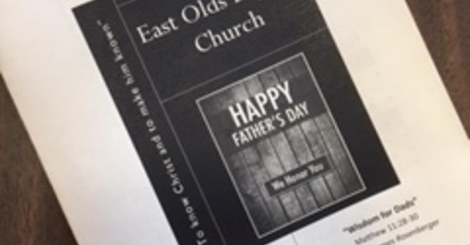 June 17, 2017 Church Bulletin image