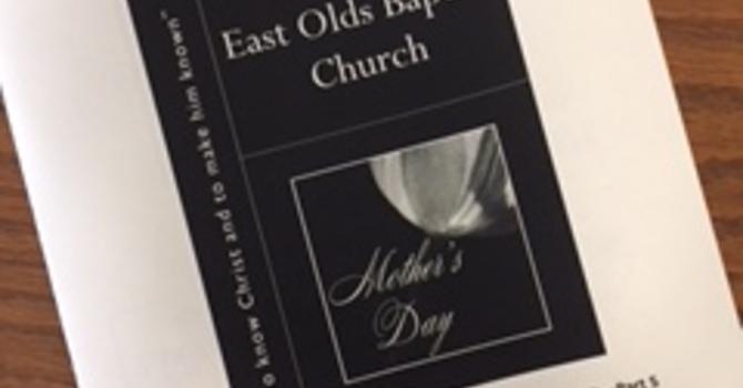 May 13, 2018 Church Bulletin image