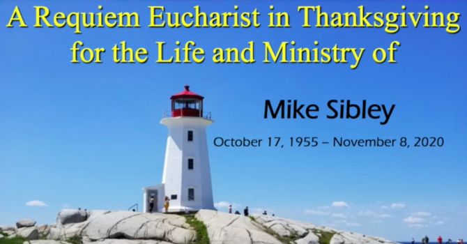 Funeral Service for Mike Sibley