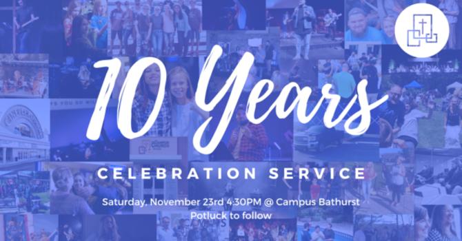 10 Year Anniversary Service