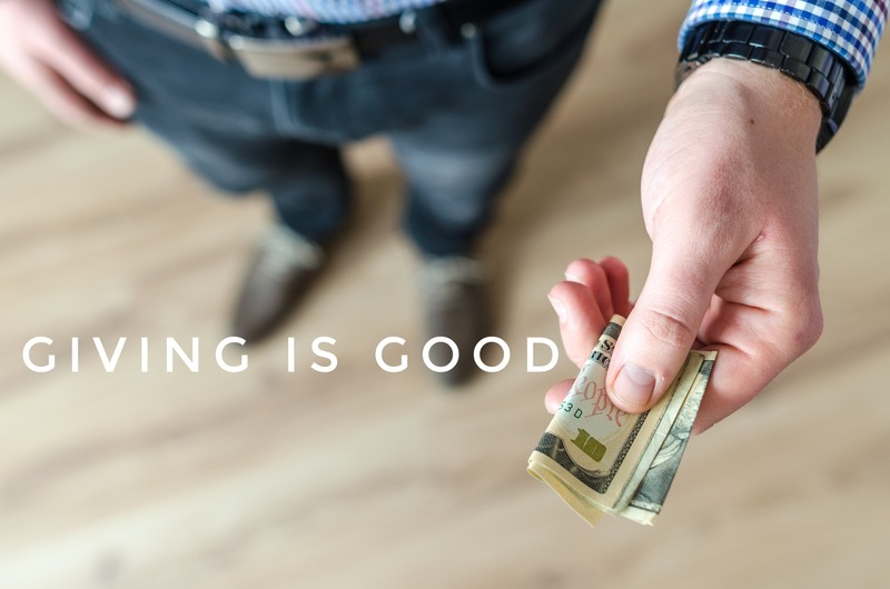 #3 - Giving is Good