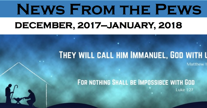 News from the Pews for December and January image