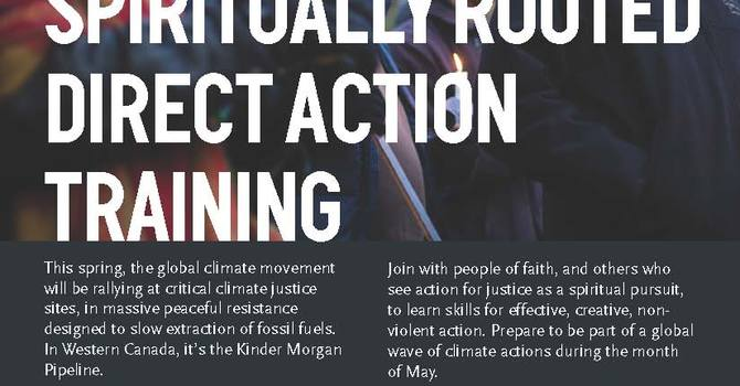 Salal and Cedar to Co-Sponsor Direct Action Training image