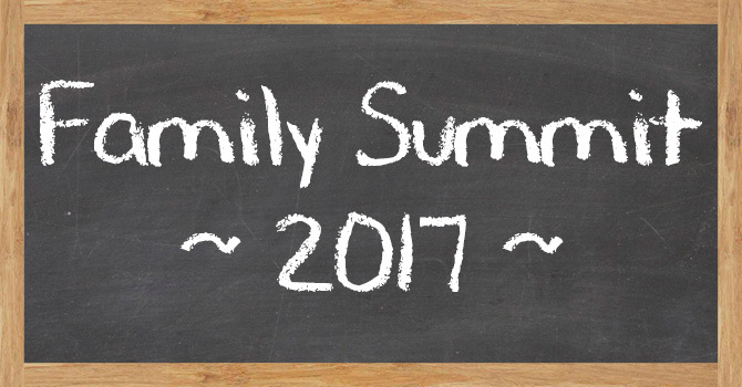 Family Summit Event Rescheduled image