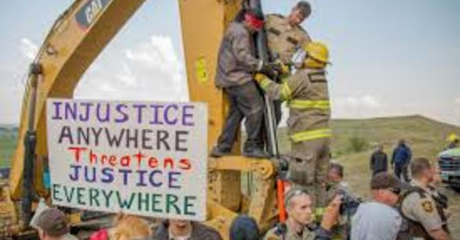 UPDATE - Standing with Standing Rock image