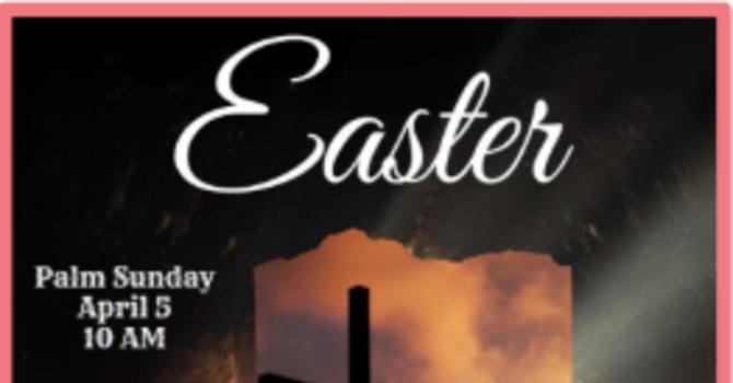 Palm / Passion Sunday & Good Friday (Website -Sermons)
