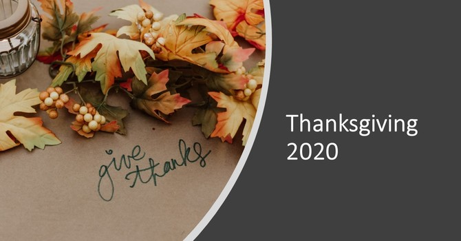 Thanksgiving in 2020 image