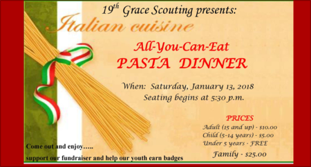 All-You-Can-Eat Pasta Dinner