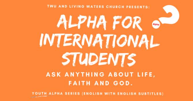 Alpha for International Students