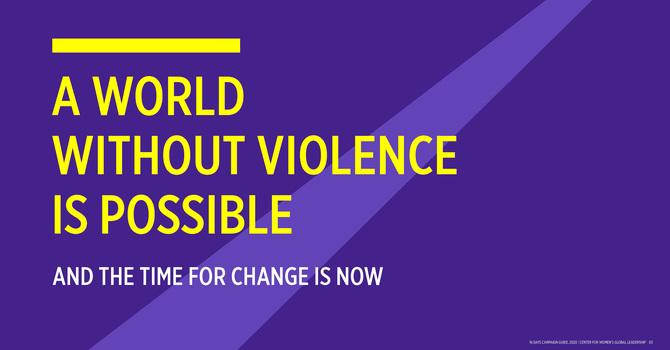 Bishop Jane's Introduction to 16 Days of Activism against Gender-Based Violence