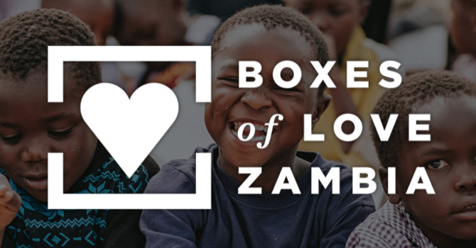 Boxes of Love for Zambia image