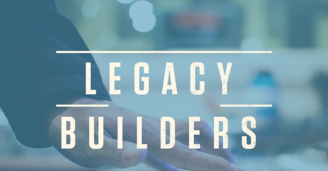 Video update - Legacy Builders  image