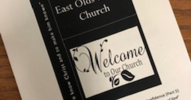 July 7, 2019 Church Bulletin image